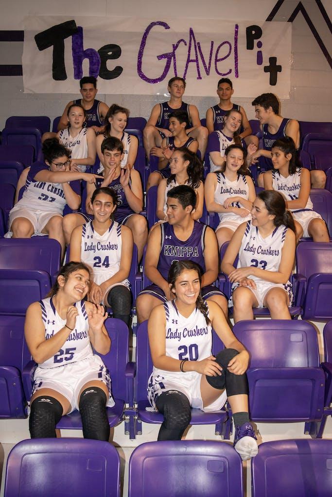 Knippa Basketball Team